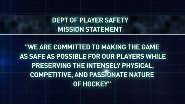 department of player safety