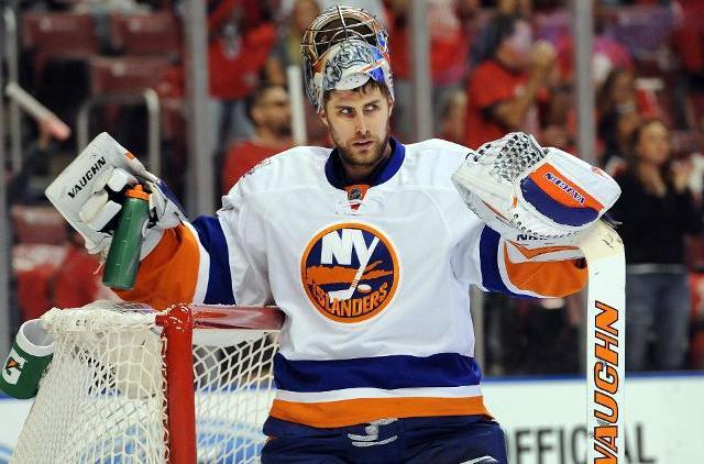 Greiss hockey Robert duyos