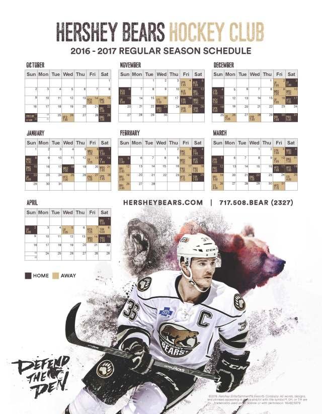 hershey-bears-2016-2017-schedule