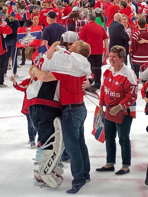 braden holtby Dad and Mom