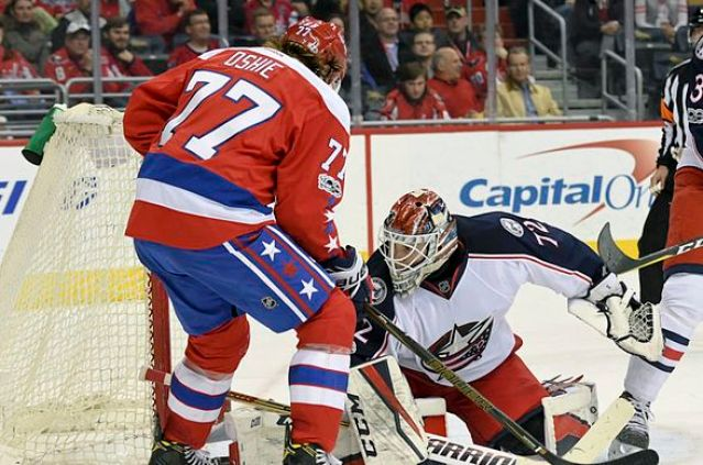 NHL: MAR 23 Blue Jackets at Capitals