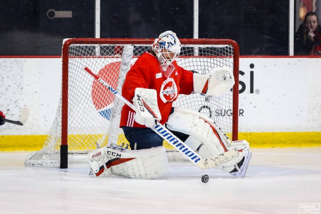 Michal Kempny Appears To Be Scratched Vs Flyers Braden Holtby To Start For Capitals Tuesday S Practice Notebook Nova Caps