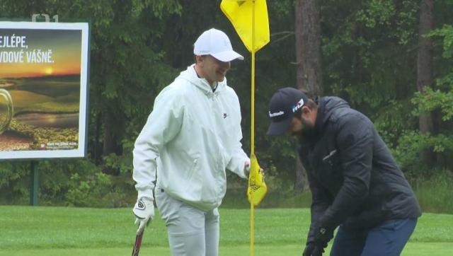 Vrana at Golf Tournamant