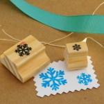 KIT Carimbos Natal – Flocos Neve