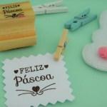Carimbo TAG – Feliz Páscoa (FOCINHO)