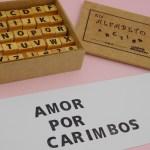 KIT ALFABETO – 30 peças – tam aprox. 1,5×1,5cm