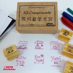 Kit Pedagógico Cumprimento