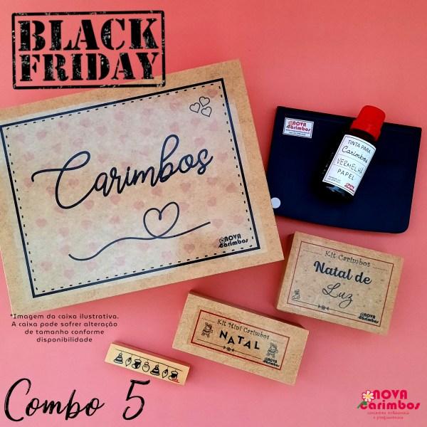 Conjunto caribos black friday combo5 - Nova Carimbos