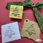 Carimbo TAG – Árvore Natal Luz
