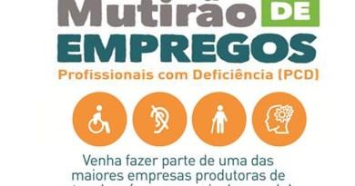 Morro Agudo recebe Mutirão de Empregos para PCDs
