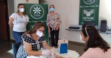 Sindicato Rural de Sales Oliveira doa 2,5 mil testes rápidos de covid-19 para o município