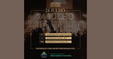 Prefeitura de Morro Agudo promove Live Gospel com ministérios da cidade