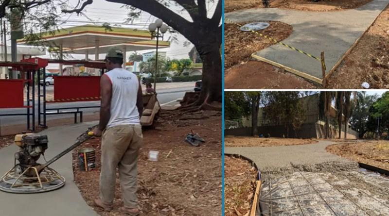 Prefeitura de Orlândia está revitalizando a Praça Coronel Orlando