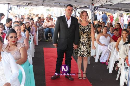 Anderson Bortoleto e Selma Ficher-casamento