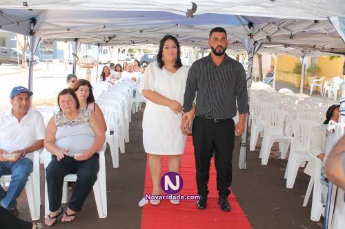 Carlos César dos Santos e Poliana Costa Lima-casamento