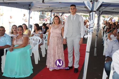 Davi da Silva Andrade e Naiara Pereira-casamento