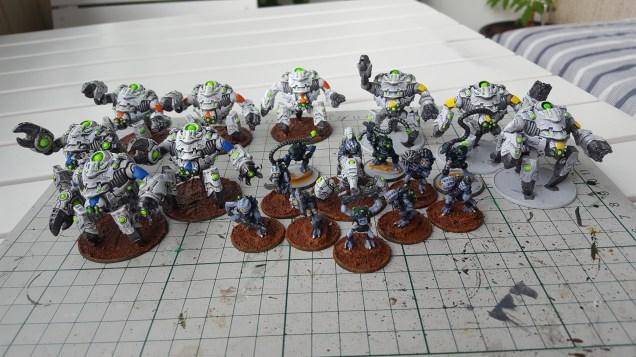 The Assembled Ghar Battle Group