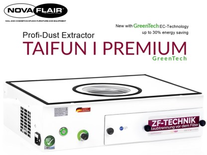 Taifun 1 Premium Nail Salon Dust Filtration System Nova Flair UK