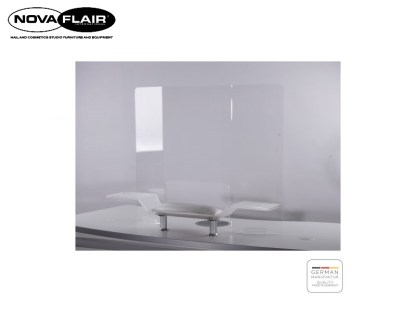 Protective Wall Hygienic Acrylic Glass Spit Sneeze Cough Protection Nova Flair UK