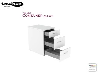 Nail Table Container 350 mm Nova Flair UK 1