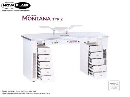 Montana Nail Table Type 2 Nova Flair UK 5