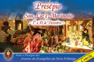 Convite Presépio Arautos 2018