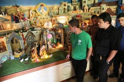 Visita dos Seminaristas ao Presépio (2)