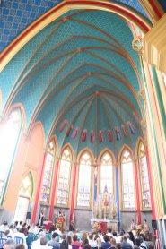 Missa de Natal na Capela Nossa Senhora de Fátima
