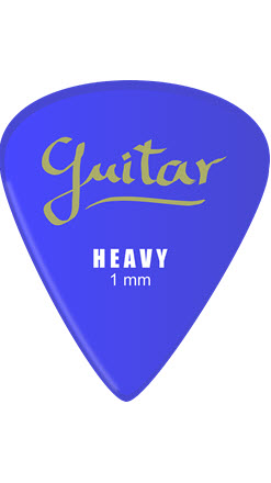 Guitar Plectrum 1mm Heavy