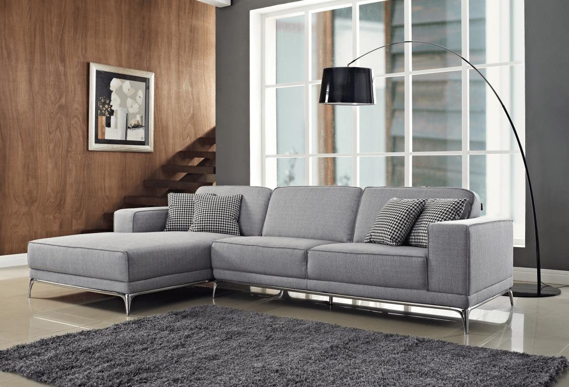 Agata Premium Fabric Sectional By Nova Interiors