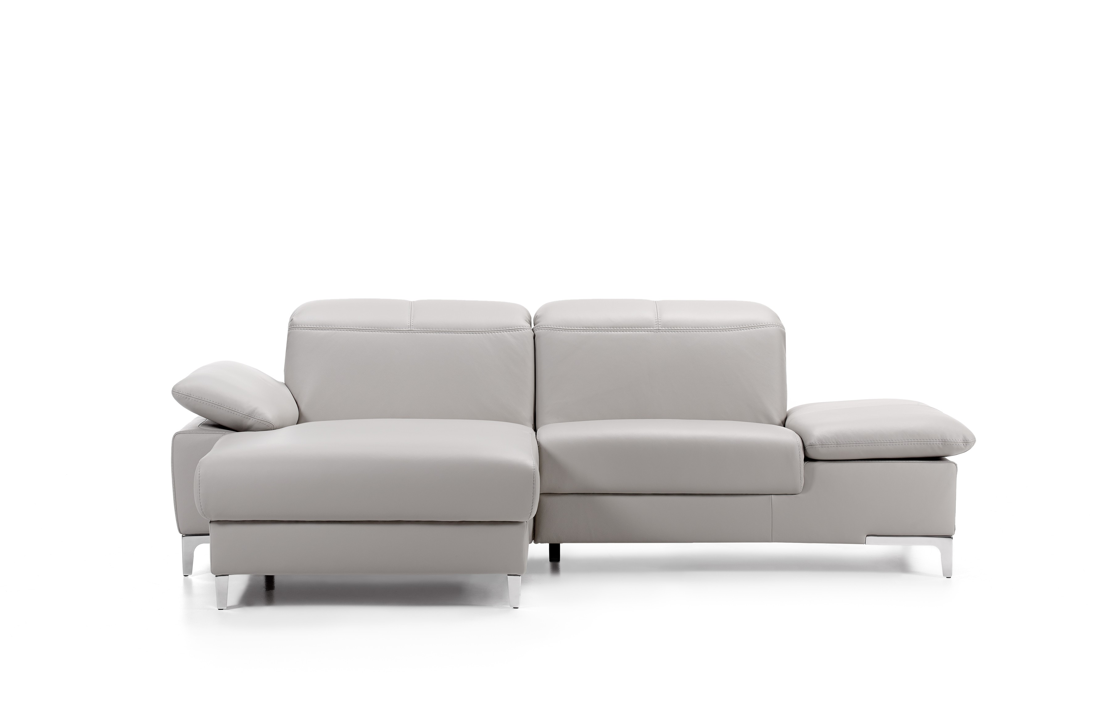 Chronos Leather Sectional By ROM Belgium At Nova Interiors