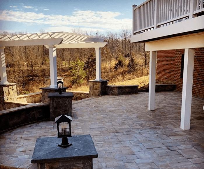 deck patio combo nova landscape design