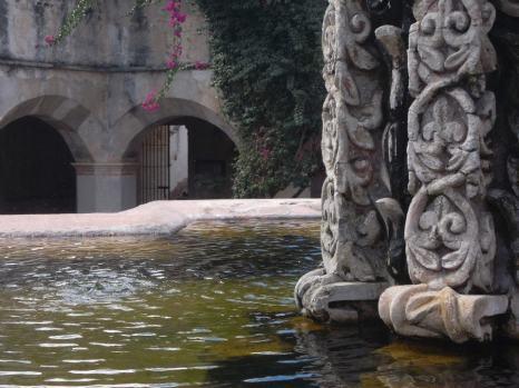 The ruins of Convento de la Merced in Antigua.