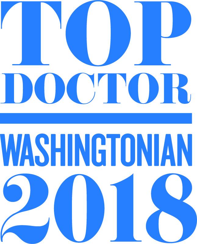 Washingtonian Magazine's Top Doctors 2018-Dr. Bradford Pontz
