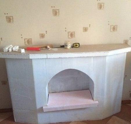 cardboard fireplace do it yourself