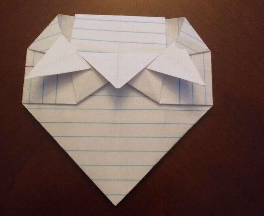 Güzel origami zarf