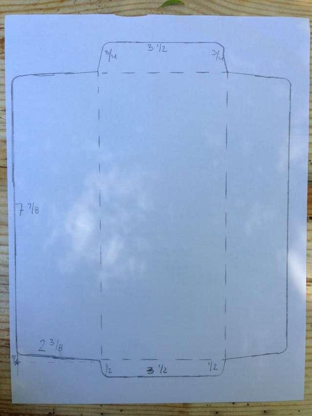 Büyük bir kağıt zarfı nasıl yapılır