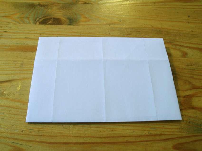 Kağıdın basit zarfı A4