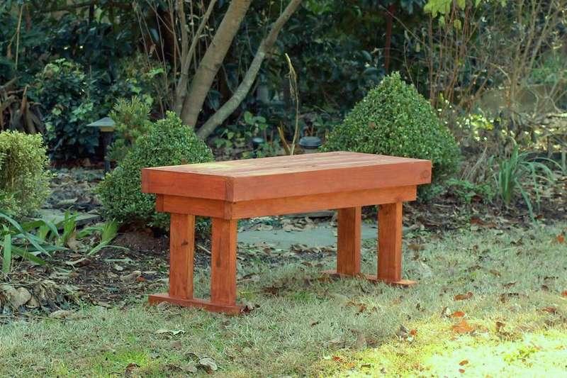 정원을위한 나무 벤치 당신 자신을하십시오