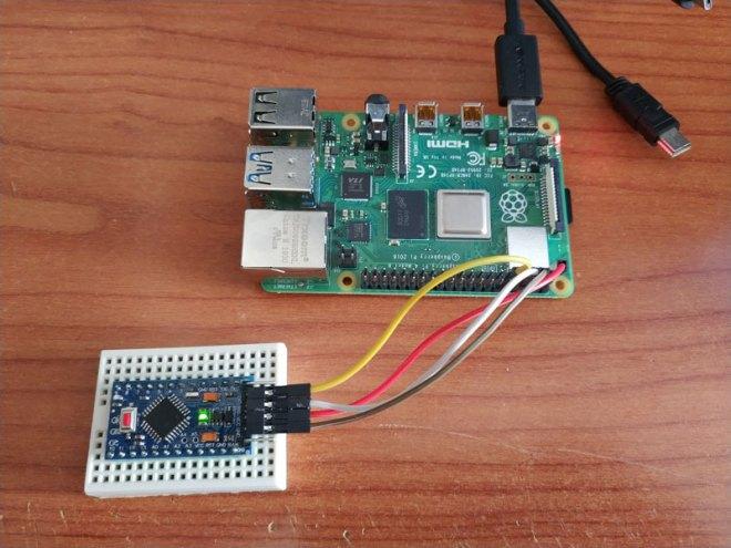 Raspberry PI - Arduino TTL