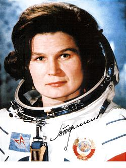 Valentina Tereshkova; library.thinkquest.org