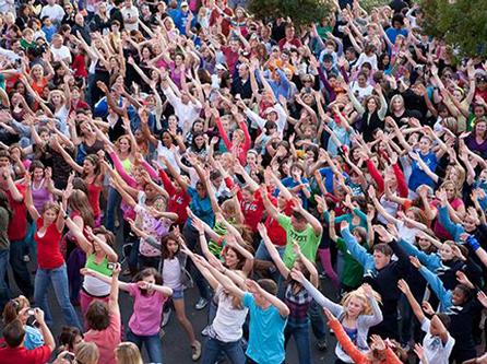 El Flashmob tendrá lugar a las 12 en el Campus de la Universidad de Almería..