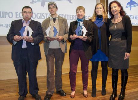 Premiados por el GEM. Foto: Puri Rodríguez.