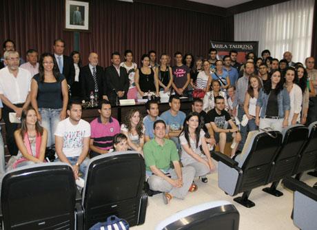 Clausura del Aula Taurina de la Universidad de Almería.