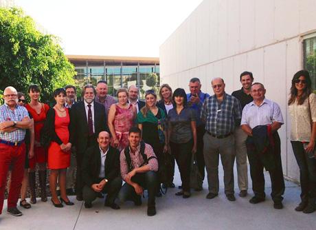 Investigadores reunidos en la Universidad de Almería.