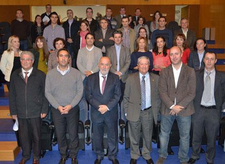 Participantes en el programa de intercambio de la UAL.