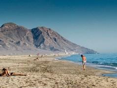 Playa de Cabo de Gata.
