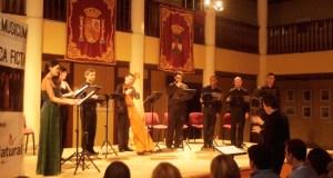 Música Ficta en el Castillo de Santa Ana.