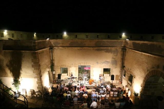 Concierto en el Castillo de Guardias Viejas, dentro del ciclo.