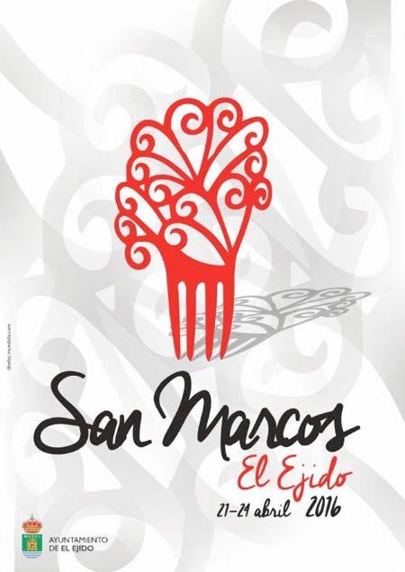 Cartel de las fietas de San Marcos.